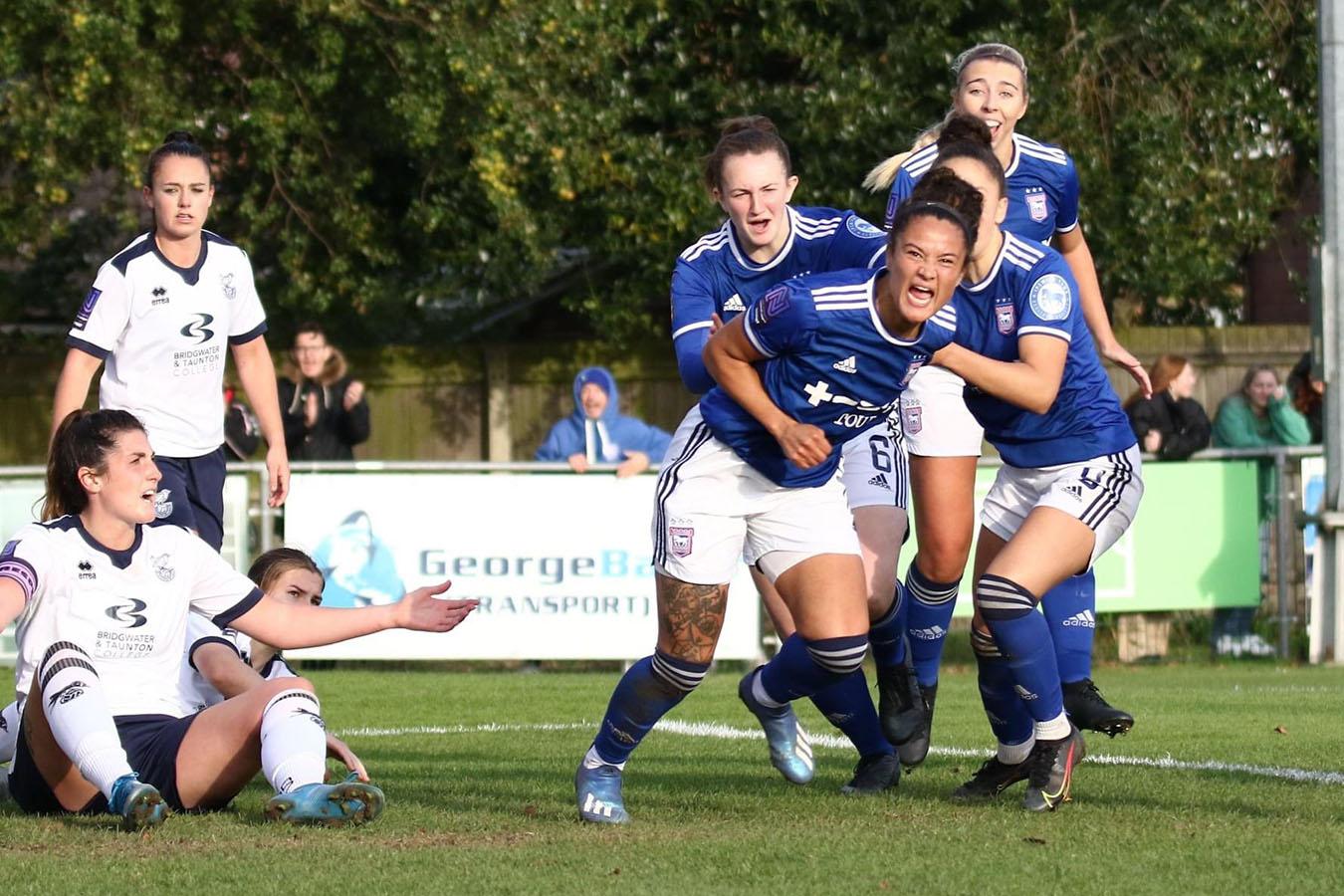 Match Report: Ipswich Town (A)